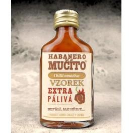 Omáčka Habanero Mučíto extra pálivá vzorek